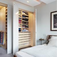 Lacquer Modern Design Customize MDF Wardrobe