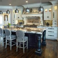 High End New Design Oak Kitchen Cabinets