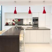 Custom Modern Design Lacquer Kitchen Cabinets