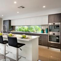 High End Modern Design PVC Kitchen Cabinets