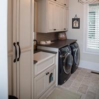 Modern Design Custom Waterproof Plywood Laundry Cabinets