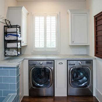 Custom Small Cabinets Maple Wood Laundry Cabinets