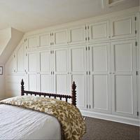High End Maple Solid Wood Custom Cabinets Wardrobe