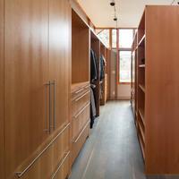 Top Quality PVC Melamine Walk In Closet Wardrobe