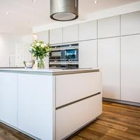 High End Custom Lacquer Kitchen Cabinets