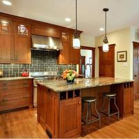 Hot Sale Modular Solid Wood Kitchen Cabinet